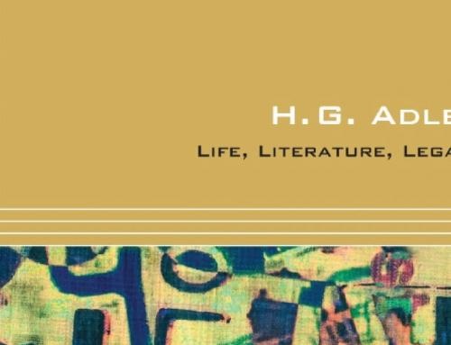 H.G. Adler: Life, Literature, Legacy